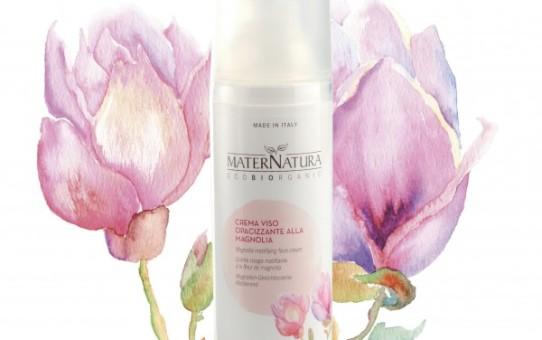 Crema Viso Bio opacizzante alla magnolia MaterNatura